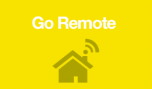 Home with wireless connection